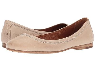 Frye Carson Ballet (Cream Antique Soft Vintage) Women