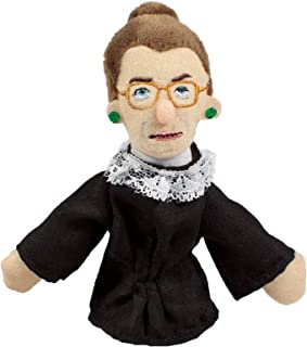 The Unemployed Philosophers Guild Ruth Bader Ginsburg Finger Puppet and Refrigerator Magnet - for Kids and Adults