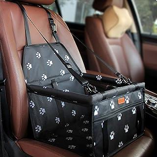 BYGD - Asiento suplementario para perro con varilla de soporte de nivelación, asiento de coche para perro adecuado para an...