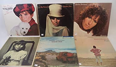 Barbra Streisand Lot of 6 Vinyl Record Albums My Name is Barbra Two and more