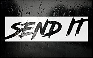 SEND IT car window DECAL / Sticker - Pick Your Color - 8