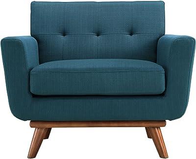 amazon com belleze isaiah modern mid century tufted upholstered low rh amazon com