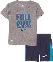 Nike Kids Baby Boy's Full Court Awesome Tee & Shorts Set (Toddler)