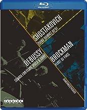 Shostakovich: Piano Quintet, Op. 57 / Debussy: Sonata for Flute, Viola & Harp / Brockman: Feast of Fives [Blu-ray]