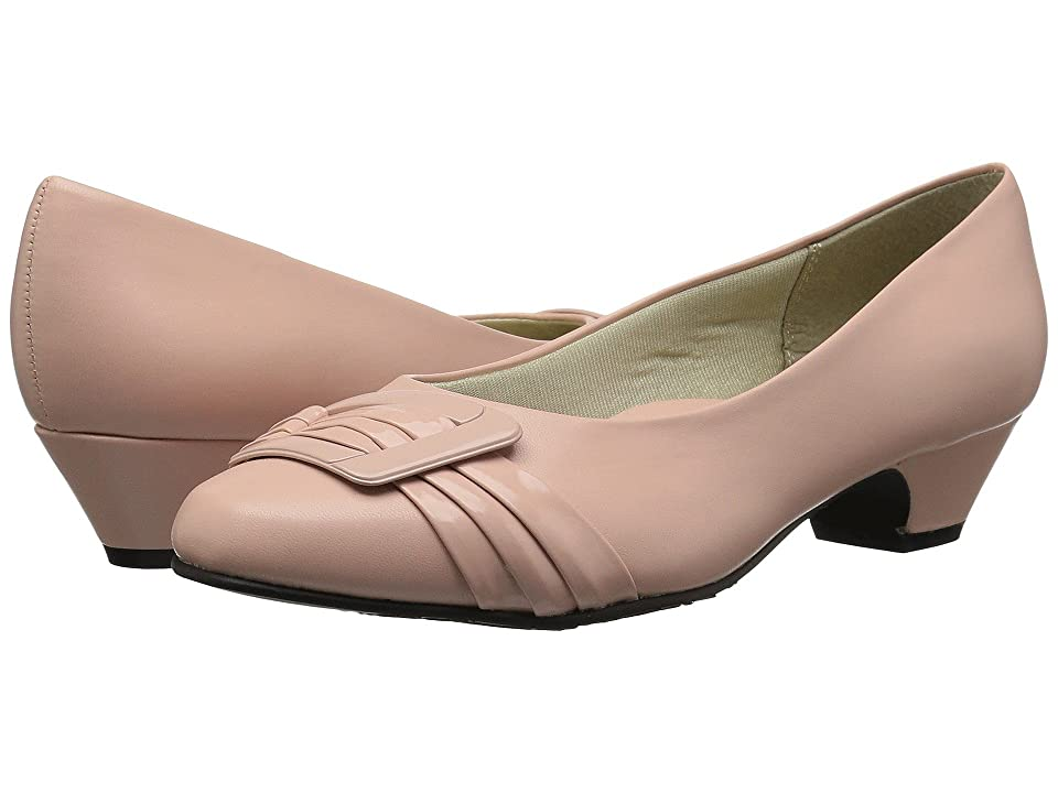 Soft Style Pleats Be With You (Rose Cloud Kid) Women's 1-2 inch heel Shoes