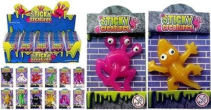 MVS Wholesale Paquete al por Mayor de 60 Criaturas pegajosas de x - el Partido de los Cabritos del niño Goody Bag Filler Loot Premio Pocket Money Toy Premio Lucky Dip Pinata Stocking Filler (60)