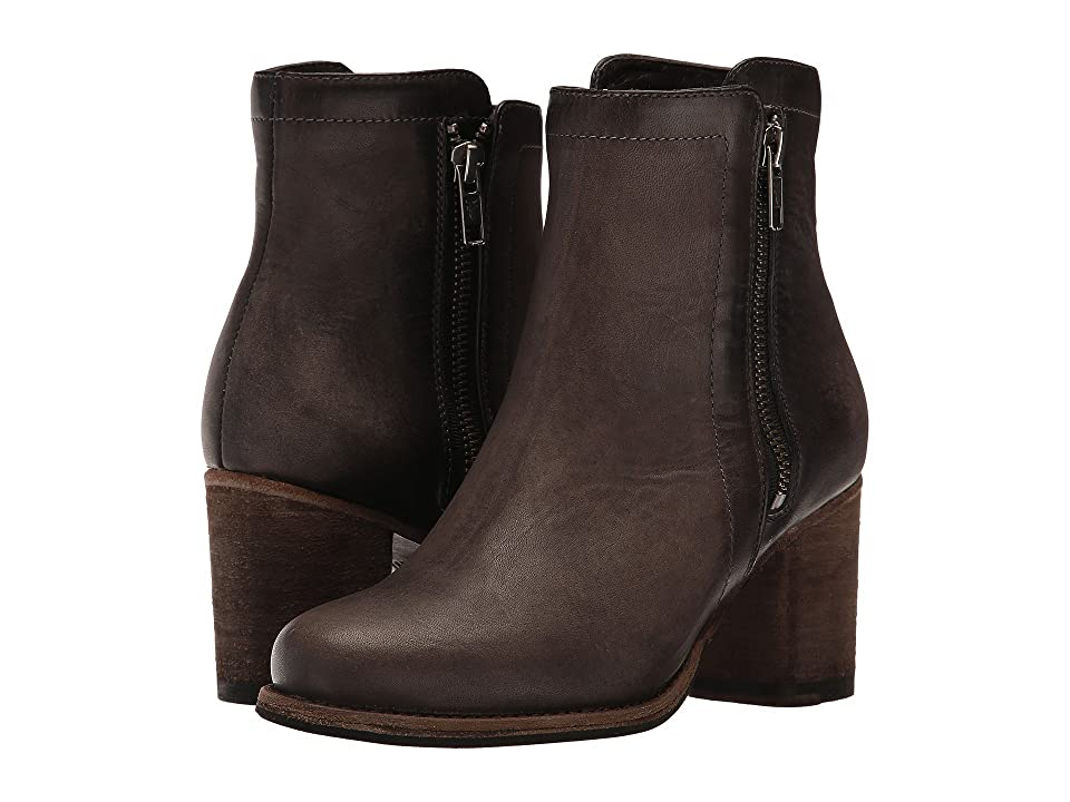 Frye Addie Double Zip (Smoke Soft Italian Nubuck) Women