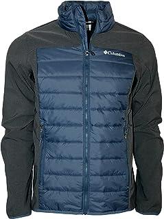 Columbia Men's Track Lines Hybrid Full Zip Water Resistant Jacket
