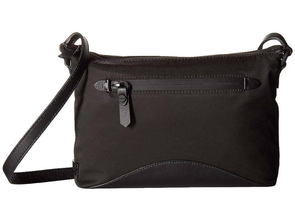 Cole Haan Zero Grand Nylon Swingpack (Black) Handbags