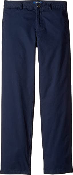 Polo Ralph Lauren Kids Slim Fit Cotton Chino Pants (Big Kids)