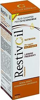 RestivOil Shampoo Fisiologico Nutriente per Capelli, Olio Fisiologico con Azione Idratante Protettiva e Riparatrice, per C...