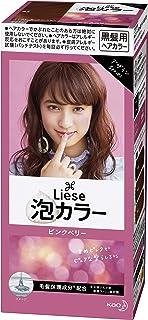 リーゼ 泡カラー ピンクベリー 108ml 【医薬部外品】