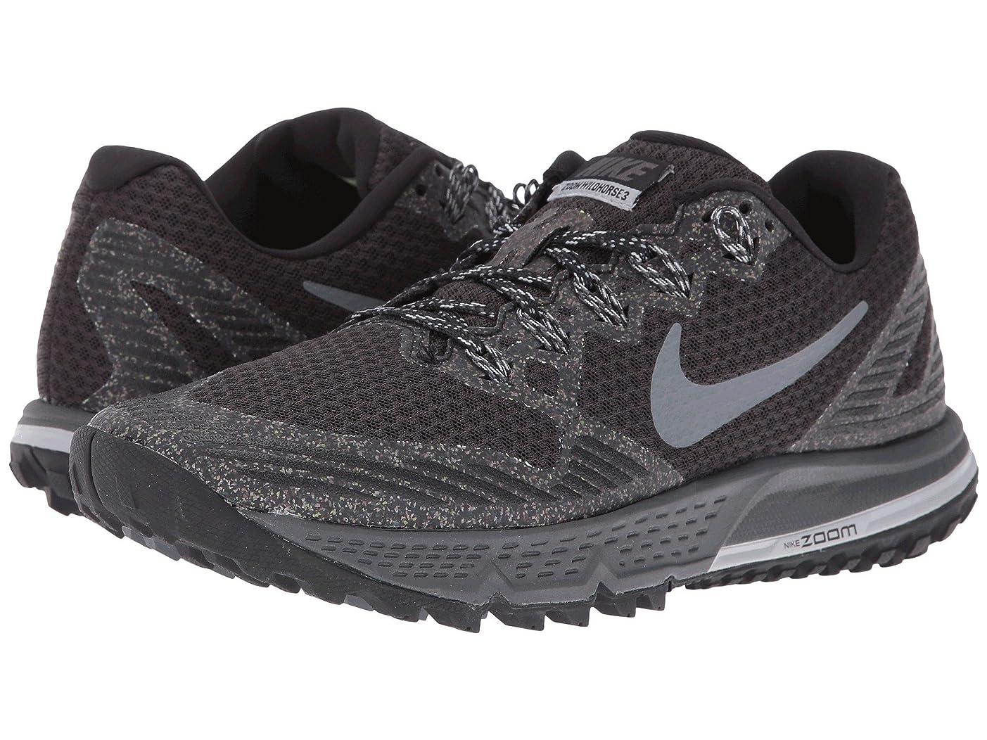 ハチトーンサービス(ナイキ) NIKE レディースランニングシューズ?スニーカー?靴 Air Zoom Wildhorse 3 Black/Dark Grey/Wolf Gray/Cool Gray 5.5 (22.5cm) B - Medium
