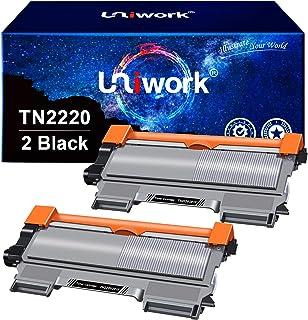 Uniwork TN2220 TN2010 Cartucce Toner Compatibile per Brother TN-2220 TN-2010 per Brother MFC-7360N MFC-7460DN DCP-7065DN D...