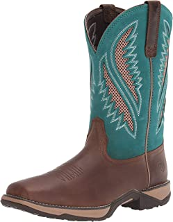 ARIAT womens Anthem Venttek Western Boot, Chocolate Chip, 8.5 US