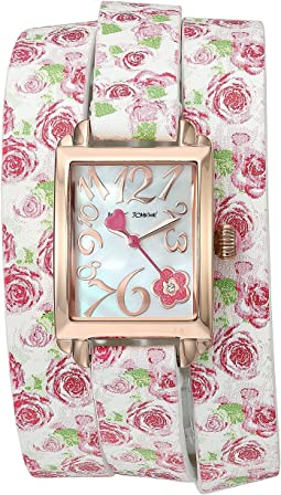 BJ00670-07 - Floral Double Wrap Strap