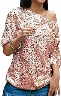 Amazon.it: Maglia con paillettes: Abbigliamento