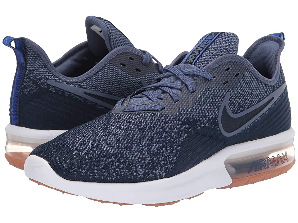 Nike Air Max Sequent 4 (Midnight Navy/Obsidian/Diffused Blue) Men
