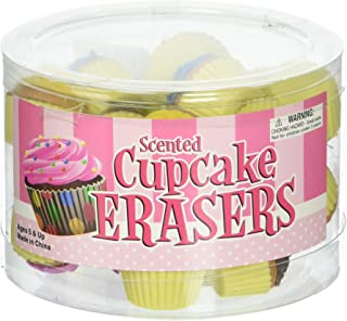 Oasis Supply Scented Cupcake Erasers Toy (24 Piece)
