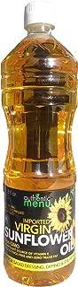 A&M Virgin Sunflower Oil (Unrefined, Cold-pressed), 33.8 oz