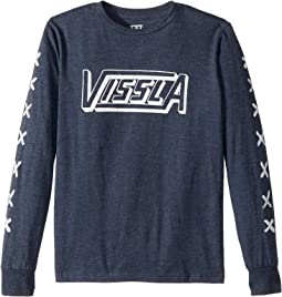 VISSLA Kids - Crossing Long Sleeve T-Shirt (Big Kids)