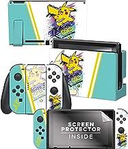 Controller Gear Nintendo Switch Skin & Screen Protector Set -