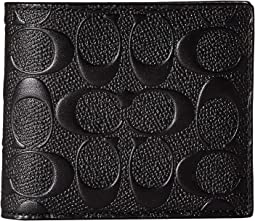 3-in-1 Wallet in Signature Crossgrain