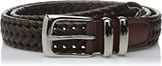 Perry Ellis Men's Portfolio Braided Belt