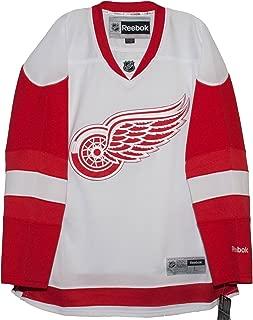 Reebok Detroit Red Wings Road White Premier Men's Jersey