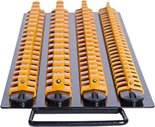 Inertia Tools 80 Piece Socket Organizer Tray - Holder 24 x 1/2