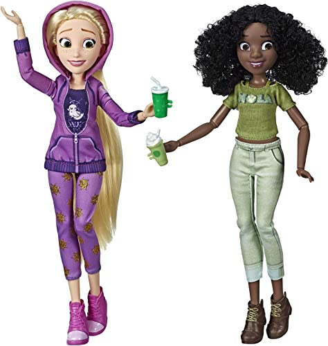 lowest Disney outlet sale Princess Ralph discount Breaks The Internet Movie Dolls, Rapunzel & Tiana Dolls with Comfy Clothes & Accessories outlet sale