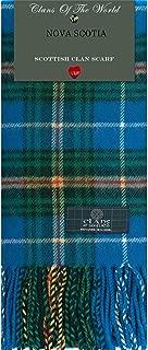 Nova Scotia Tartan Clan Scarf 100% Soft Lambswool