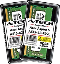 A-Tech 16GB Kit (2 x 8GB) Memory RAM for Acer Aspire 5 (A515-43-R19L) Slim Laptop - DDR4 2666MHz PC4-21300 1.2V SODIMM Upgrade Modules