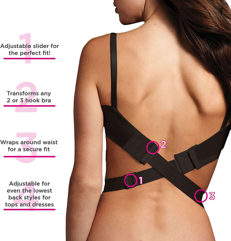 Low Back Bra Strap Converter Entièrement neuf sous emballage