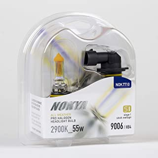 Nokya 9006/HB4 All Weather Headlight Bulbs 2900K 55W (Stage 1) NOK7710