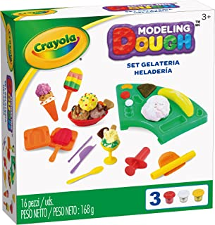 Crayola Modeling Dough Ice Cream Parlor Kit - 16 pieces