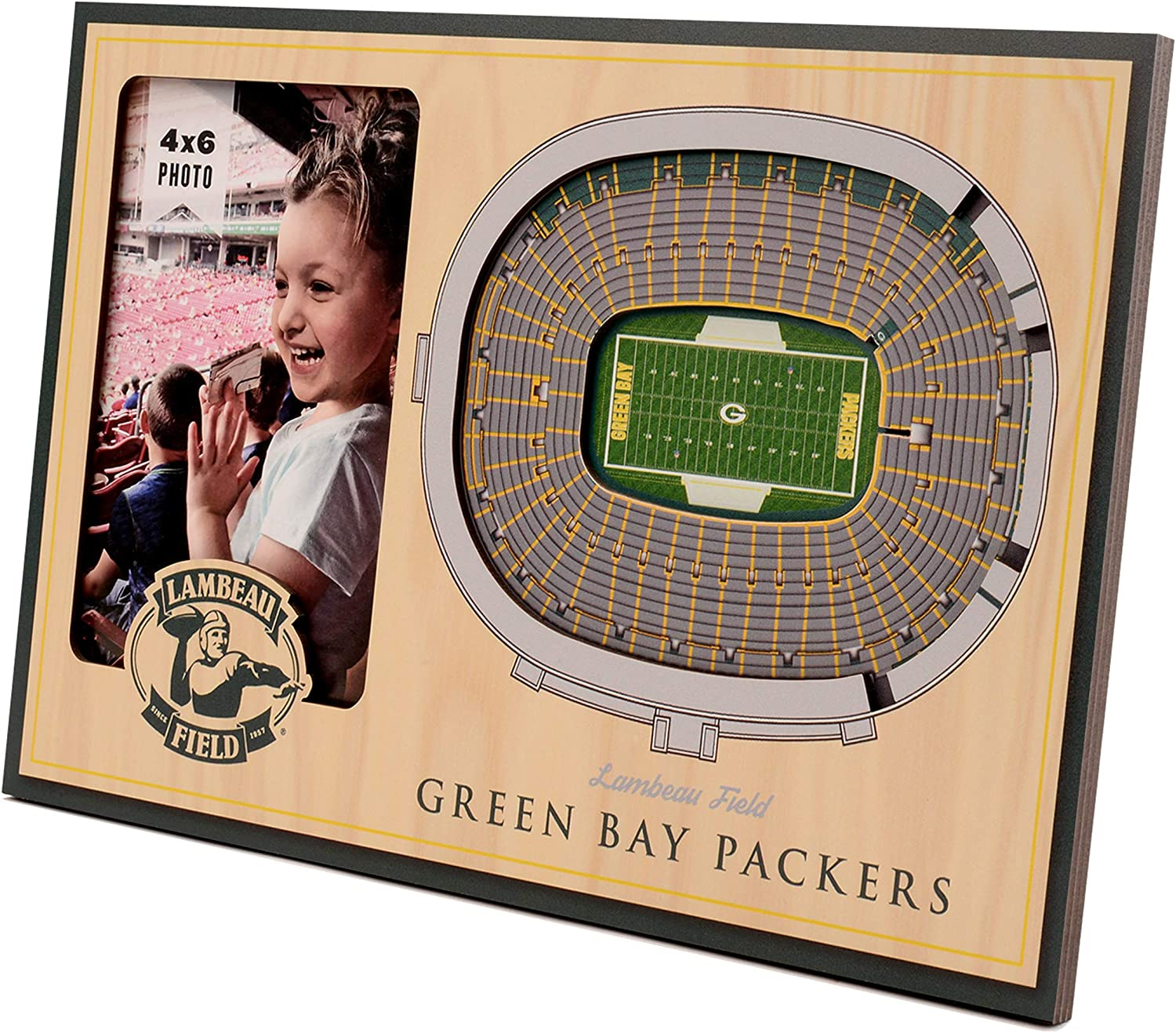 YouTheFan NFL Finally resale start 12'' x 8'' 3D Frame and Frame: Picture Popular overseas StadiumView