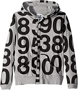 Numbered Zip Hoodie (Little Kids/Big Kids)