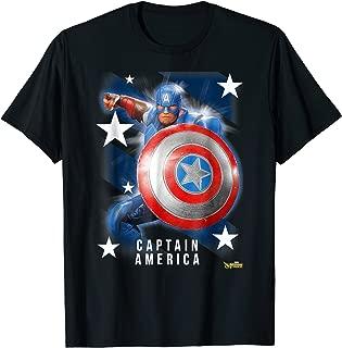 Marvel Strike Force Captain America Graphic T-Shirt
