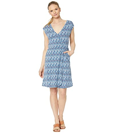 Aventura Clothing Zoya Dress (Navy Peony) Women
