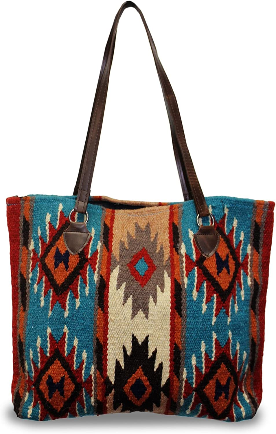 Southwest Boutique Wool Tote Purse San Antonio Mall Bag gift Western Native S American