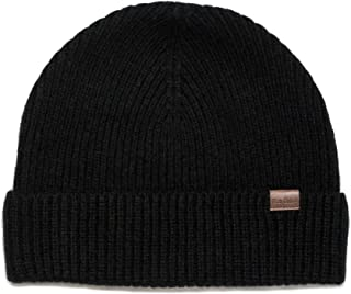 Beanie Hat 100% Merino Wool Daily Soft Hat Knit Men Women Plain Cuff Rollup Street Style Fisherman Cap