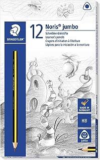 Staedtler Noris 119 Triplus Jumbo Learner's Pencil HB - Pack of 12, Black