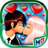バレンタインデーロマンチックなキス