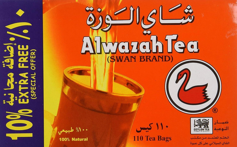 Alwazah Tea 100% trend rank Pure Ceylon 110-bags Pack of 2- Sale SALE% OFF Total 220