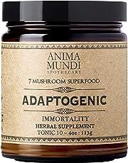 Anima Mundi Adaptogenic Powder - Organic Mushroom Superfood Powder for Immune Defense - Organic Immune Support Supplement with Reishi, Lions Mane, Chaga, Maitake & Cordyceps Mushrooms (4oz / 113g)