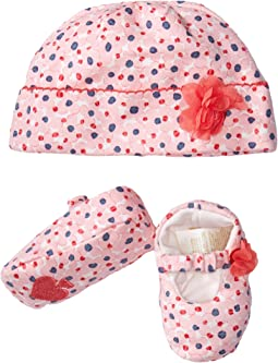 Kate Spade New York Kids - Cap & Shoe Set (Infant)