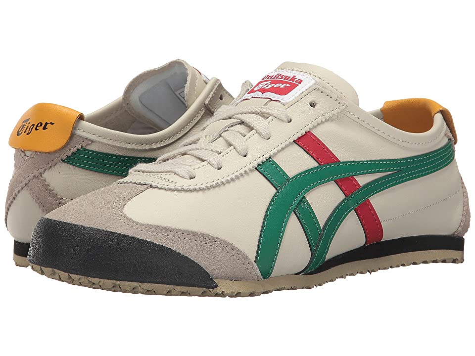 Onitsuka Tiger by Asics Mexico 66 (Birch/Green 1) Lace up casual Shoes