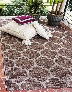 Best indoor outdoor rugs brown Reviews