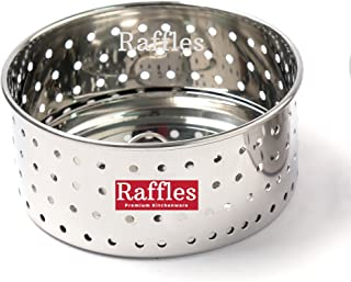 Raffles Premium Stainless Steel Paneer Maker/Mould, Size 2~400 ml